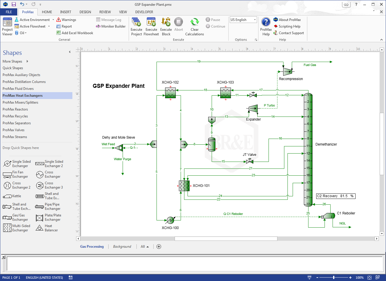 Promax workflow solutions project specification with the promax project viewer geenschuldenfo Choice Image